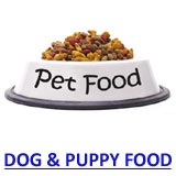 dog and new puppy food