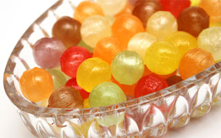 Hard loolies or candy can cause choking in dogs