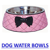 click here to view new puppy and dog water bowls